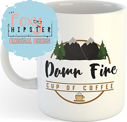 Twin Peaks Damn Fine Cup of Coffee 11 oz Coffee Mug