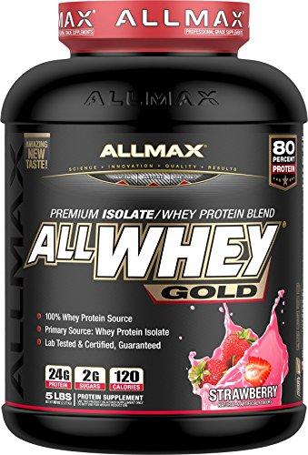 Cheap Allmax Allwhey Gold Protein 5lbs – Strawberry