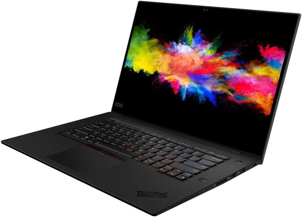 "Lenovo ThinkPad P1 Gen 2 20QT001XUS 15.6"" Mobile Workstation - 1920 X 1080 - Core i7 i7-9750H - 16 GB RAM - 256 GB SSD - Midnight Black - Windows 10 Pro 64-bit - NVIDIA Quadro T1000 with 4 GB - I"