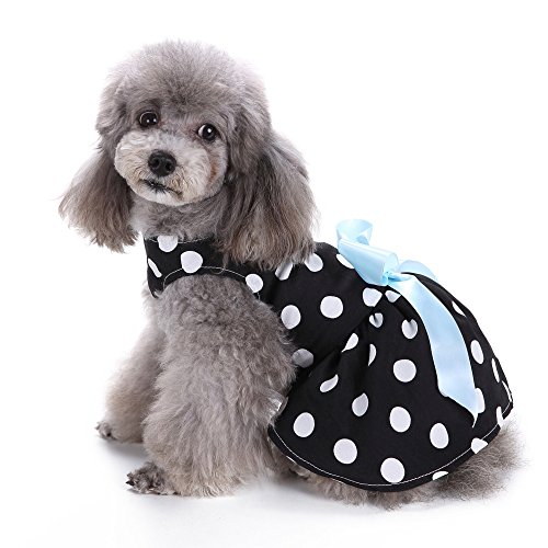 Clearance Sale! Pet Clothes Cinsanong Cute Polka Dot