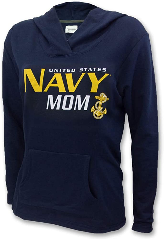 Armed Forces Gear Ladies United States Navy Mom Hood