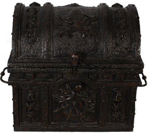 Nautical Tropical Imports Davy Jones Locker Treasure Chest 16