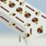 RICO INDUSTRIES NFL Washington Redskins Vinyl Table Cover, One Size, Team Colors