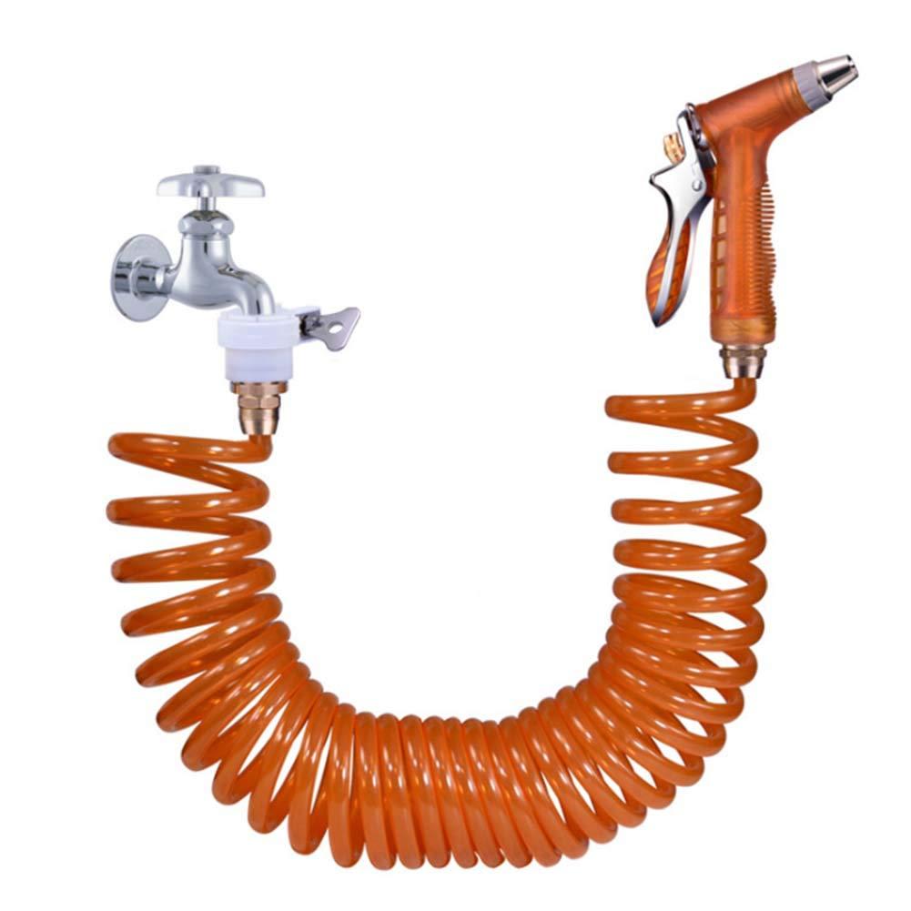 Pistola ad acqua del tubo flessibile, attrezzatura di irrigazione telescopica della pistola a acqua del tubo flessibile della pistola a acqua di pulizia potente ultra leggera e super conveniente,15M