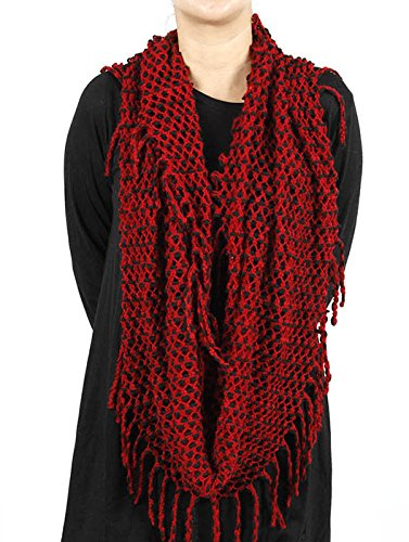 RI001 KNITTED INFINITY SCARF