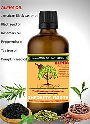 Aceite de ricino negro jamaiquino para un rápido crecimiento del ...