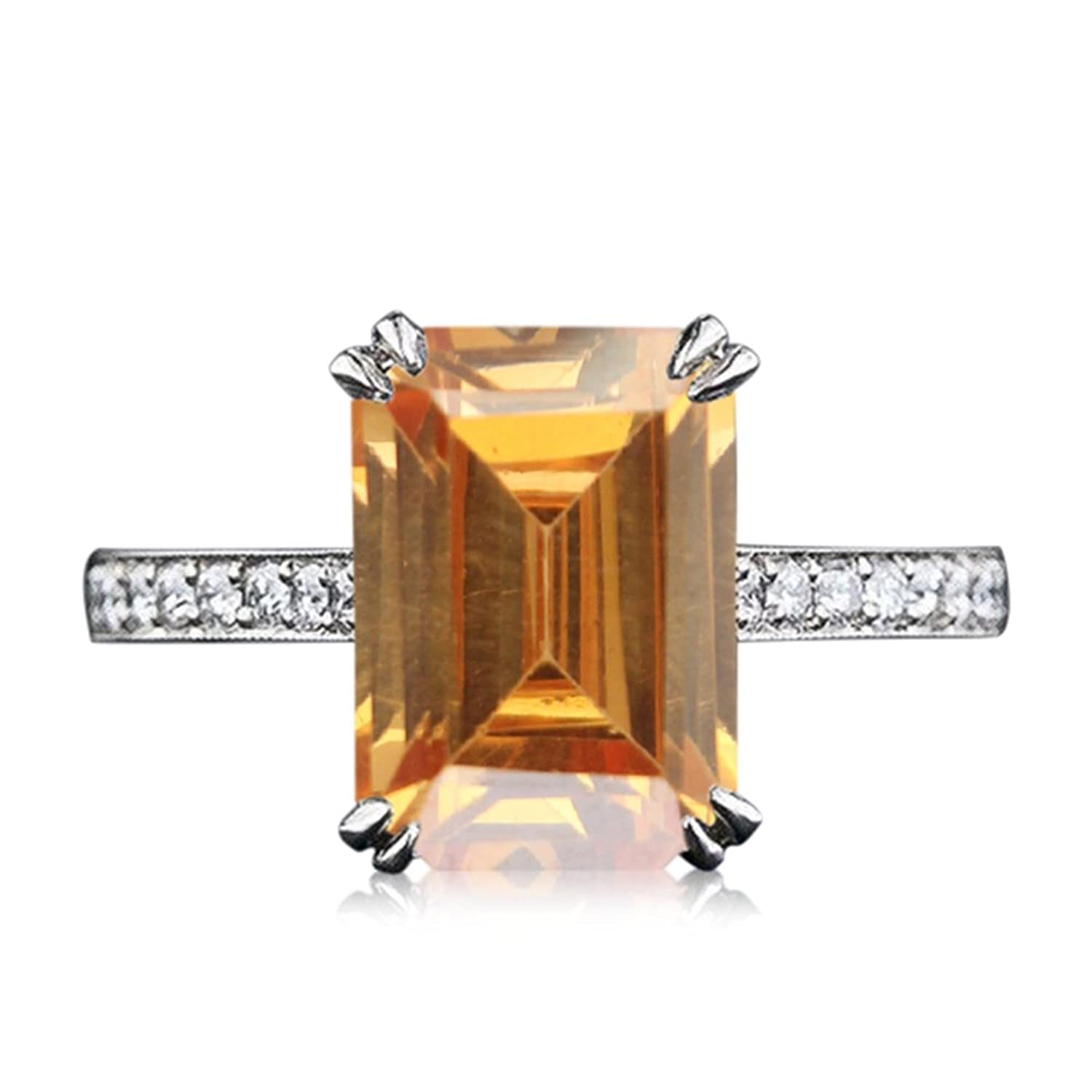 5401797502ff Lilu Jewels - Anillo de compromiso para mujer