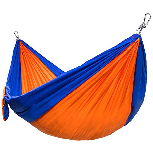 Single-Wide Camping Hammock, Lightweight and Portable Par...