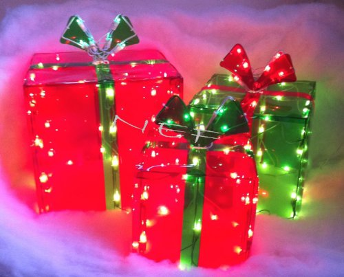 Lighted Christmas Presents For Outdoors in US - 8