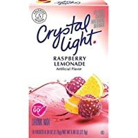 Crystal Light - Raspberry Lemonade on the Go - 10 Count Boxes (Pack of 2)