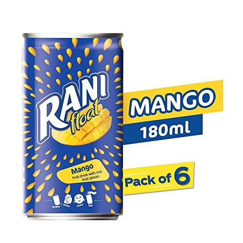 Rani Float - Mango - Can - Pack of 6 X 180 ml (B085XQ1YNP) Amazon Price History, Amazon Price Tracker