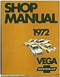 ST-300-72 Used 1972 Vega Chevrolet Shop Manual