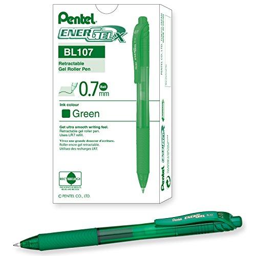 Pentel EnerGel X Retractable Liquid BL107 D