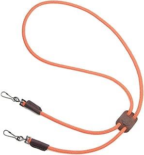 product image for Mendota Pet Dog Whistle Lanyard, Double, Orange, 1/8 x 25-Inch