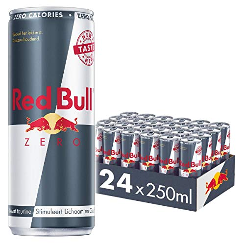 Red Bull Energy Drink, Zero, 24 x 250 ml