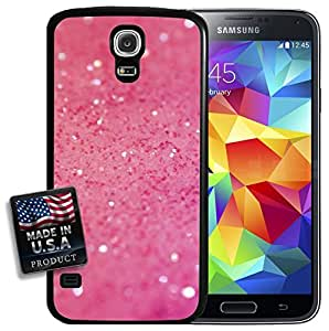 Pink Glitter Sparkles Bling Galaxy S5 Hard Case