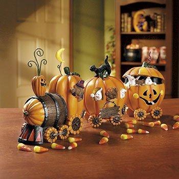 (The Pumpkin Express Train - Decorative)