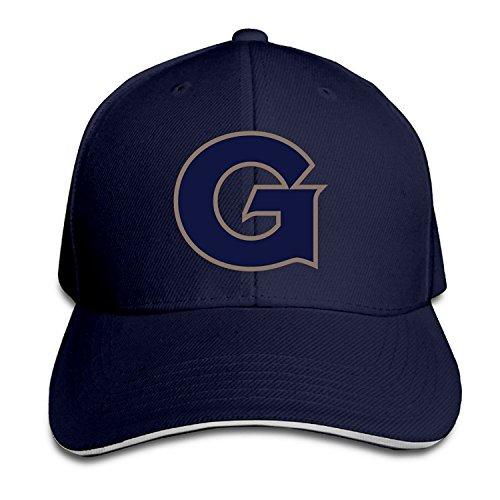 (Georgetown University Logo Jack The Bulldog Snapback Hats Visor Sandwich Cap)