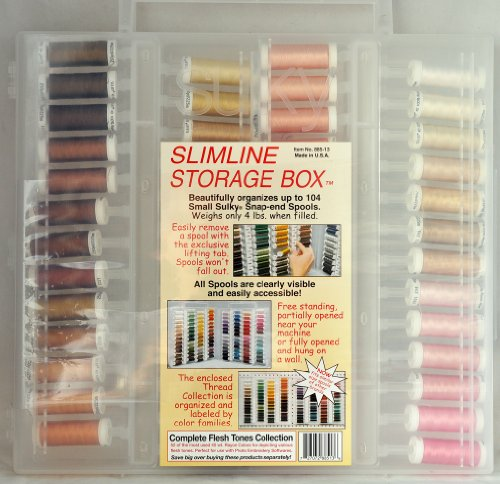 Sulky Slimline Box Complete Flesh Tones Collection 40 Wt. Rayon 885-13