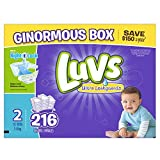 Health & Personal Care : Luvs Ultra Leakguards Diapers, Size 2, 216 Count by Luvs
