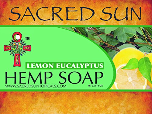 Sacred Sun Hemp Soap (Lemon/eucalyptus)