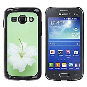 La Bailarina De Lirios Blancos - Metal de aluminio y de plástico duro Caja del teléfono - Negro - Samsung Galaxy Ace 3