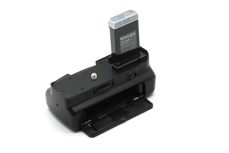 Lot de batterie grip pour Canon EOS 100d Rebel SL1/DSLR Camera LP-E12/batterie Blanc t/él/écommande IR