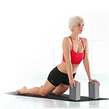 Amazon.com : Binmer Yoga Blocks, Exercise Fitness Yoga ...