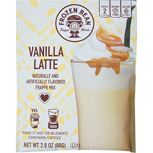 (Frozen Bean Vanilla Latte Frappe Mix, 2.8 Ounces (Pack of)