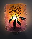Dream Catcher Recycled Glass Night Light Nightlight, Nitelite, Southwestern Spiritual Art Decor