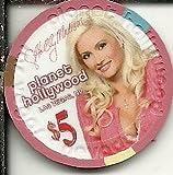 $5 planet hollywood holly madison las vegas casino chip super rare