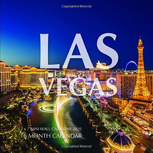 Mini Las Vegas >> Las Vegas 7 X 7 Mini Wall Calendar 2020 16 Month Calendar