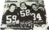 Jack Ham Jack Lambert Andy Russell Autographed Steelers 16x20 Photo w/ JSA COA