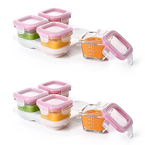 oxo 4 oz baby food containers - 5