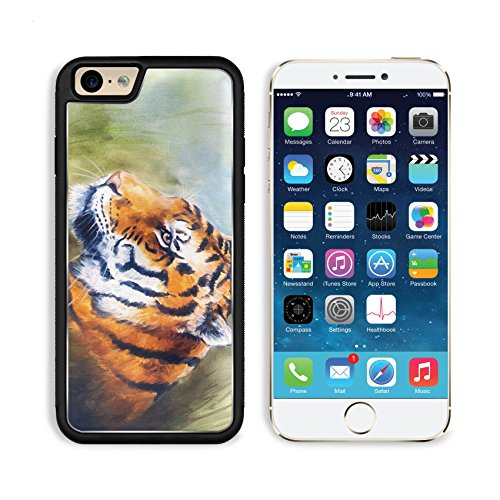 apple-iphone-6-6s-aluminum-case-beautiful-airbrush-painting-of-a-mighty-fierce-head-on-a-soft-toned-