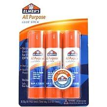 Elmer's All-Purpose Glue Sticks, Large, 0.77 oz Each, 3 Sticks per Pack (E5022) by Elmers
