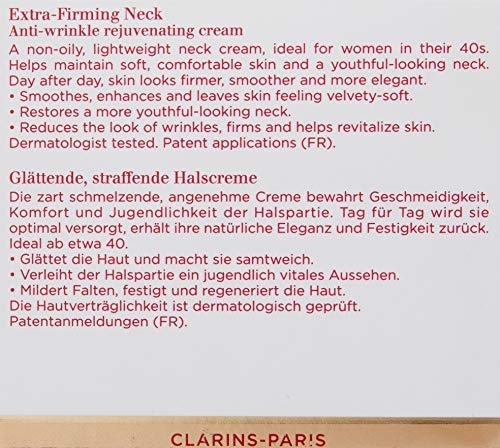 Clarins Extra-Firming Neck Anti-Wrinkle Rejuvenating Cream, 1.6 Ounce by Clarins (Image #7)