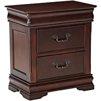 247SHOPATHOME Idf-7260N, nightstand, Cherry