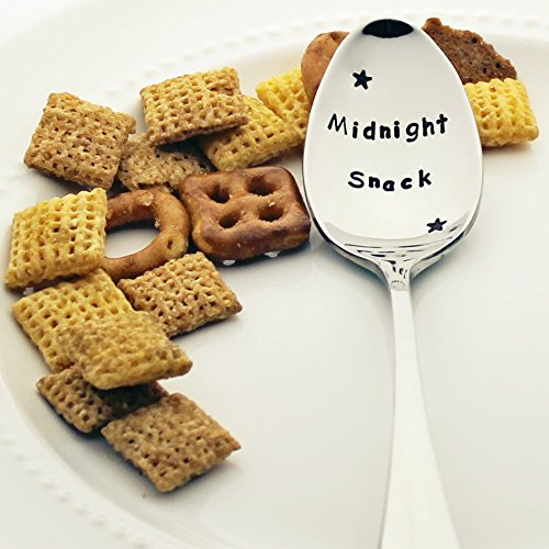 midnight-snack-with-stars-stamped-spoon-stamped-silverware-unique-gift-idea-for-friends