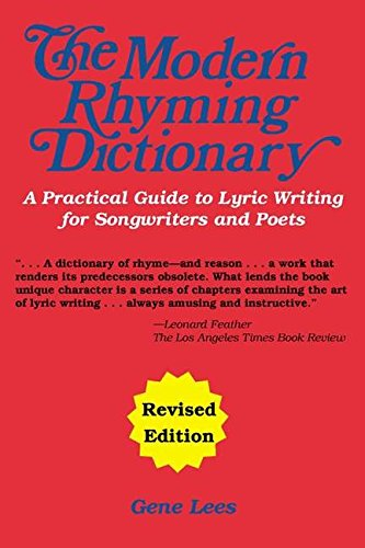 The Modern Rhyming Dictionary Edition