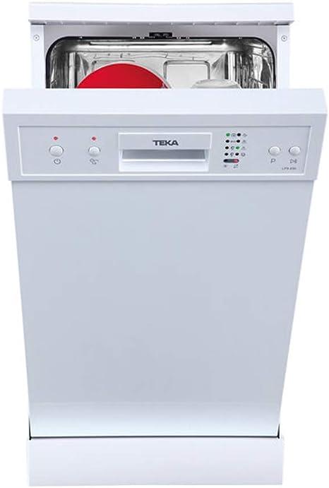 Comprar Teka LP8 400 Independiente, A+ lavavajilla - Lavavajillas (Independiente, Blanco, Slimline (45 cm), Blanco, Botones, 9 cubiertos)           [Clase de eficiencia energética A+]