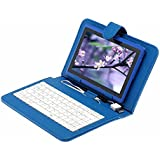 """MINS Tablet PC iRulu 7"""" Q88 4G 1.5GHz Android 4.2 Touch HD Bluetooth A23 Dual Core WiFi - Dual Core, Dual Cameras, Capacitive Touch Screen support G-Sensor + A free 8GB TF Card Android Dual Core&Cam Tablet PC + Keyboard Case Cover"""
