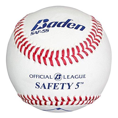 Baden Level-5 Safety Baseball (Dozen), Official by Baden