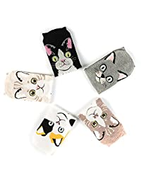 5 Pairs Socks Comfort Cotton Casual Sock