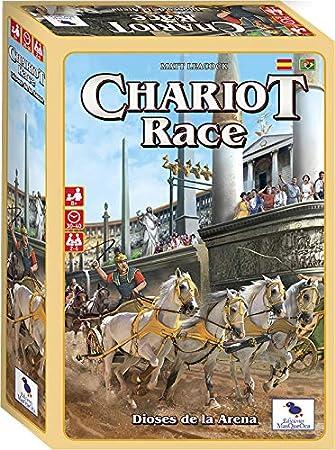 Ediciones MasQueoca - Chariot Race Dioses de la Arena (Español)(Portugués): Amazon.es: Juguetes y juegos