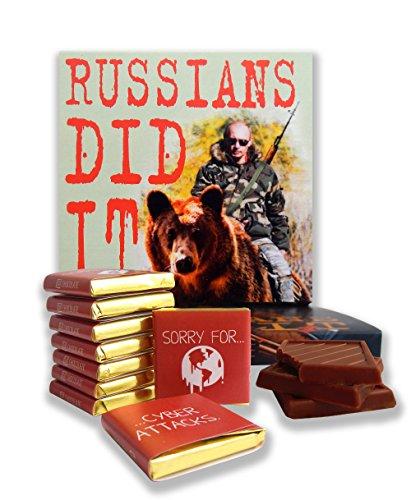 DA CHOCOLATE Candy Souvenir Funny Food Gift ☭