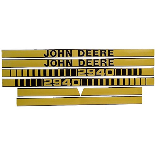 JD2940 Hood Decal Set Made For John Deere Tractor 2940 (Decal Tractor Set)