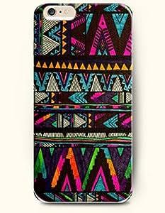 OOFIT Aztec Indian Chevron Zigzag Pattern Hard Case for Apple iPhone 6 Plus 5.5