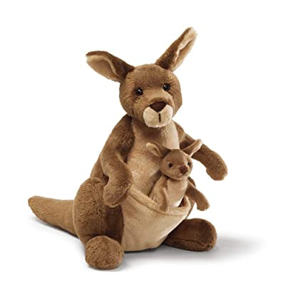 "GUND Jirra Kangaroo Stuffed Animal Plush, 10"": Toy: Toys & Games"