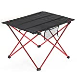 Yaheetech 900D Folding Camping Table 33Lb Capacity with a Storage Pocket